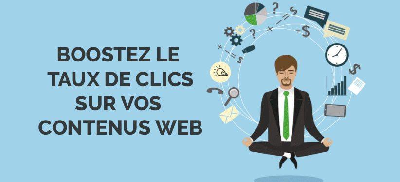 11 façons de booster le taux de clic sur votre site internet