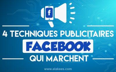 4 techniques publicitaires Facebook pour mobile qui marchent